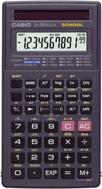 how to turn off fractions on casio calculator